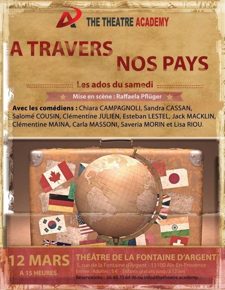 A travers nos pays - Spectacle des adolescents