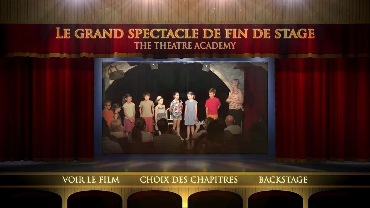 Le grand spectacle de fin de stage du 01.08.14